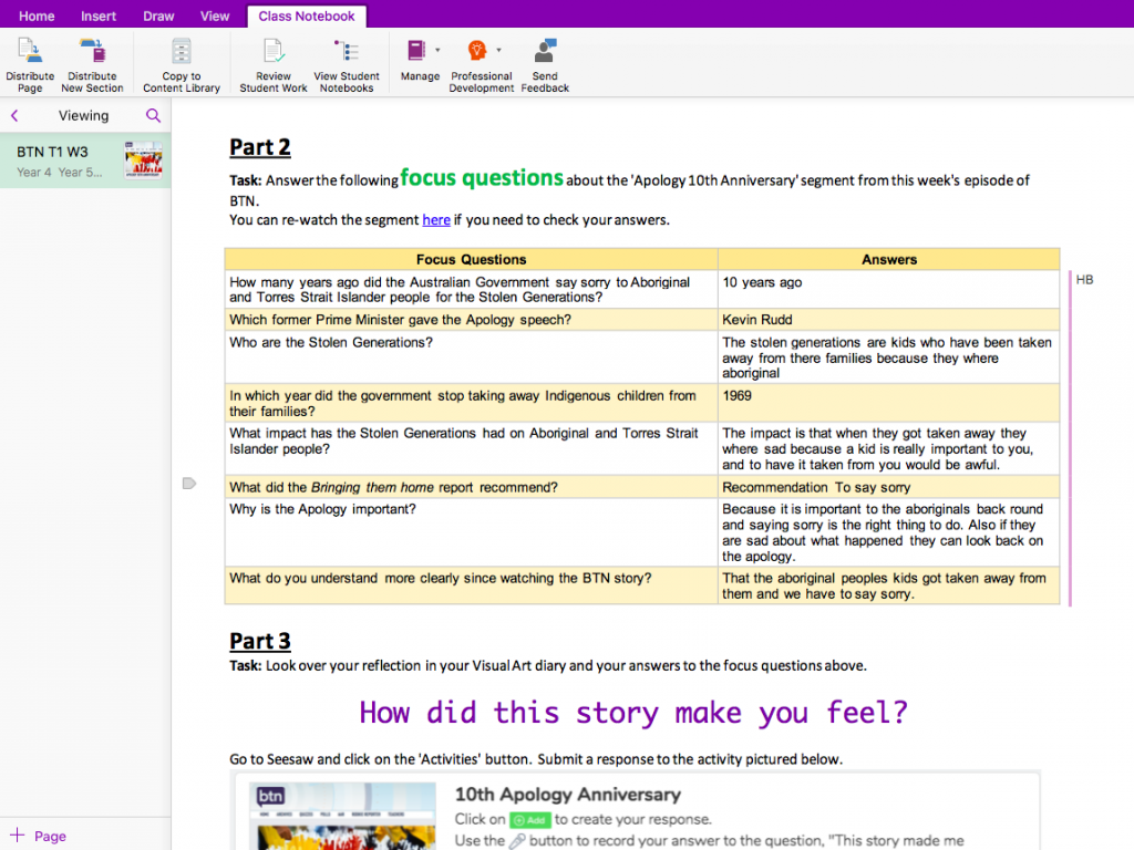 6 Tips for Assessing in OneNote